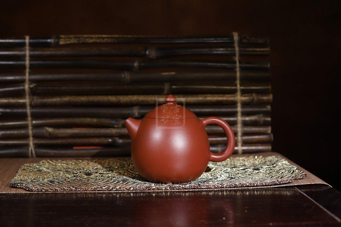 《龙蛋》宜兴紫砂壶名家纯全手工原矿大红袍泡茶壶非陶瓷功夫茶具