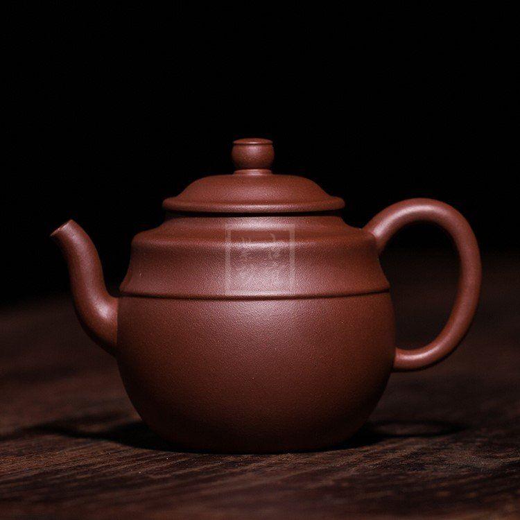 《线韵》宜兴紫砂壶名家助理工艺美术师蒋华福手工泡茶壶非陶瓷线韵功夫茶具线韵壶