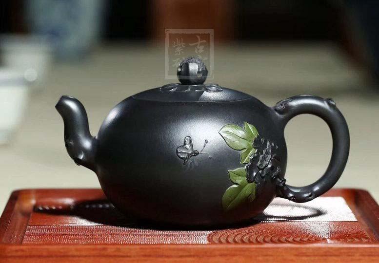 《添香》紫砂壶宜兴天青泥功夫茶具工艺美术师全手工家用茶壶名家一粒珠
