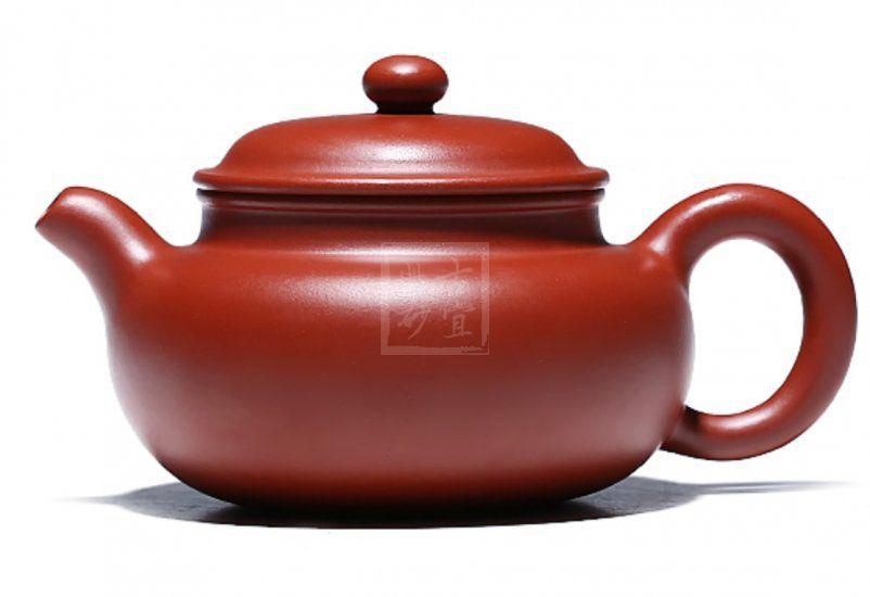 《徐峰大红袍光器仿古》宜兴助理工艺美术师紫砂壶老师手工仿古茶壶仿古泡茶壶