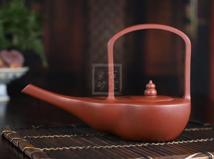 《福禄》宜兴紫砂壶手工茶壶底槽青创新壶