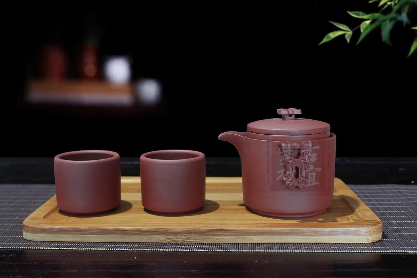 《快客杯》宜兴紫砂杯过滤网片快客茶杯正品全手工盖杯