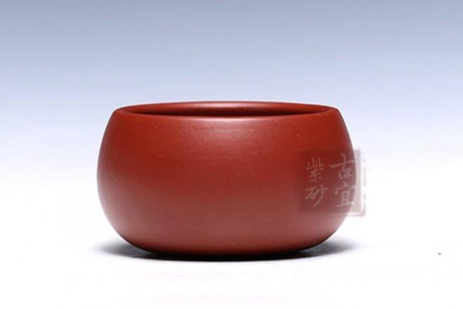 《简圆杯》宜兴原矿紫砂杯泡茶杯办公茶具带盖水杯子简圆杯