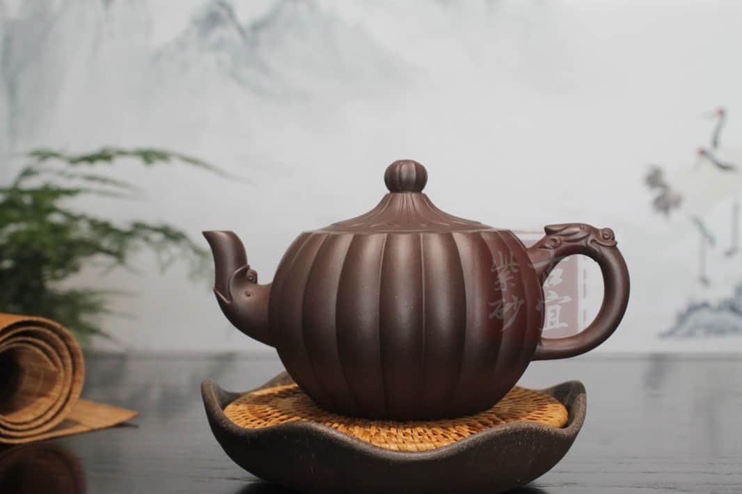 《菊蕾》宜兴紫砂壶套装名家全纯手工紫泥菊蕾紫砂壶家用红茶功夫茶具